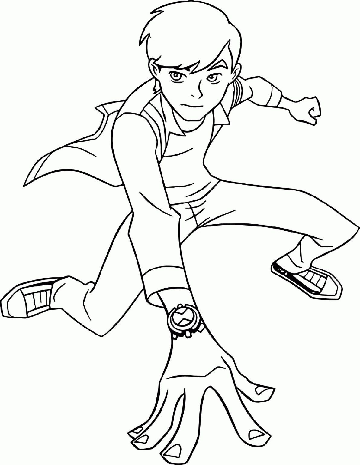 Ben 10 Coloring Pages for Children | 101 Coloring in 2020 ...