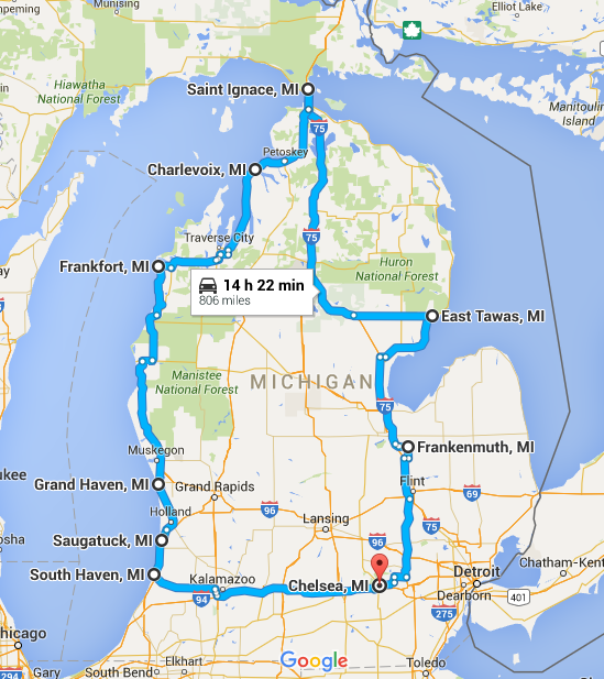 Places To Visit On Lake Michigan In Wisconsin: 10 Unforgettable Road Trips To Take In Michigan Before You