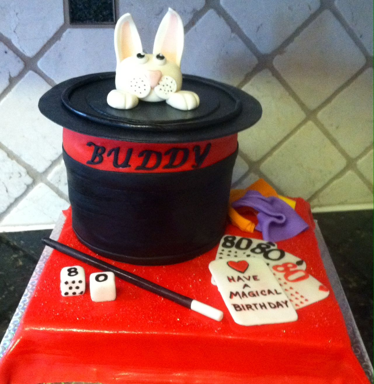 Magic themed cake