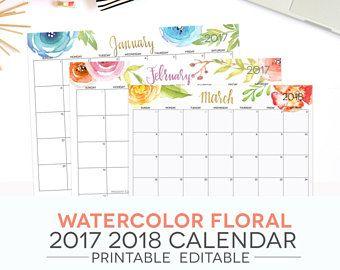 free downloadable calendar 2018