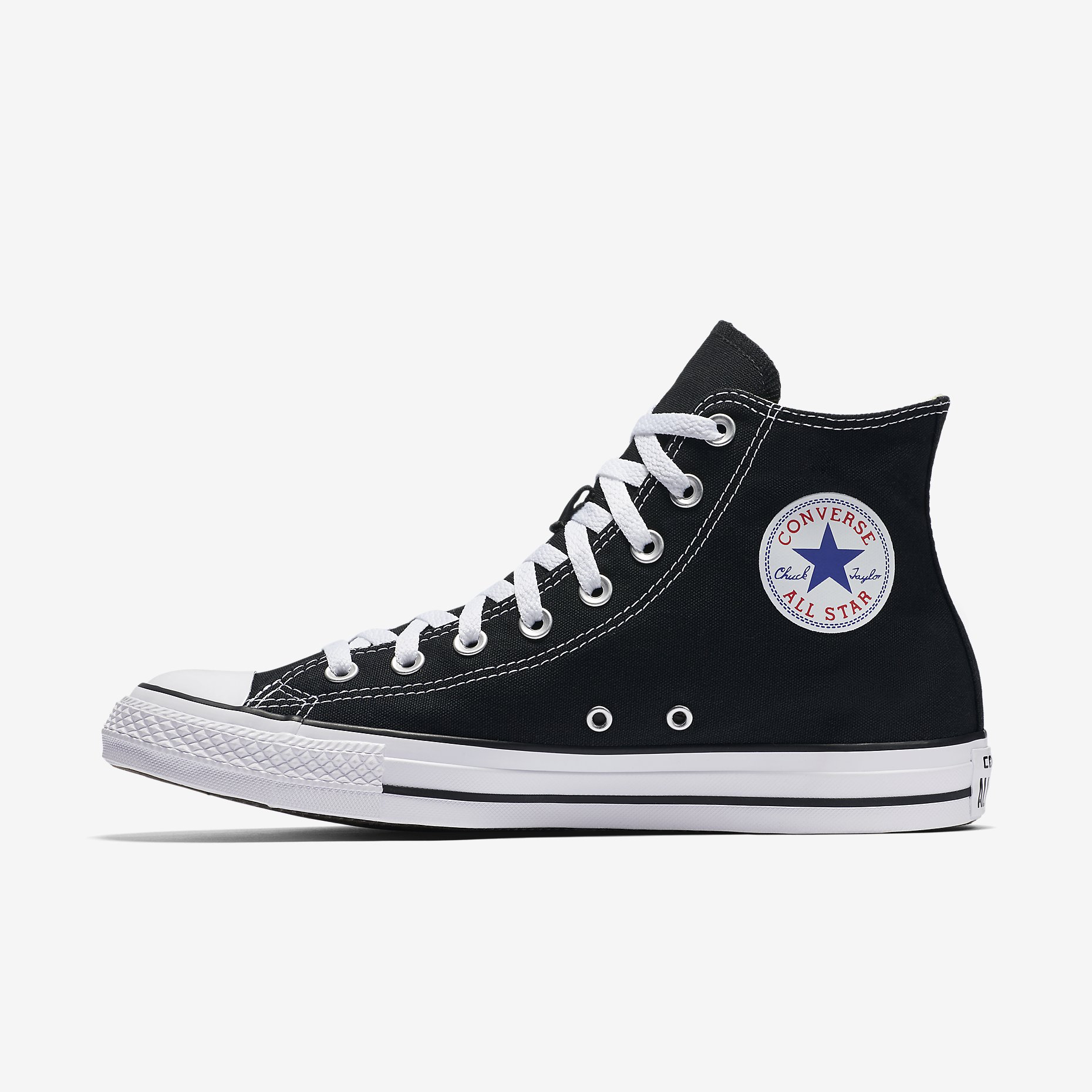 5b9f81fc43f3 Converse Chuck Taylor All Star Womens High Top Black in 2019