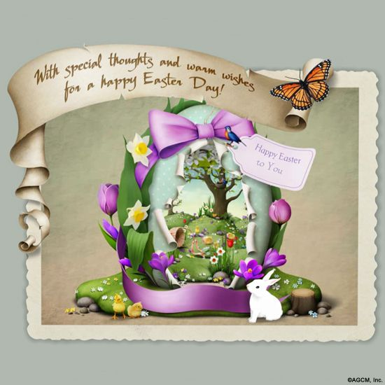 Warm easter wishers interactive ecard birthday wish warm easter wishers interactive ecard m4hsunfo