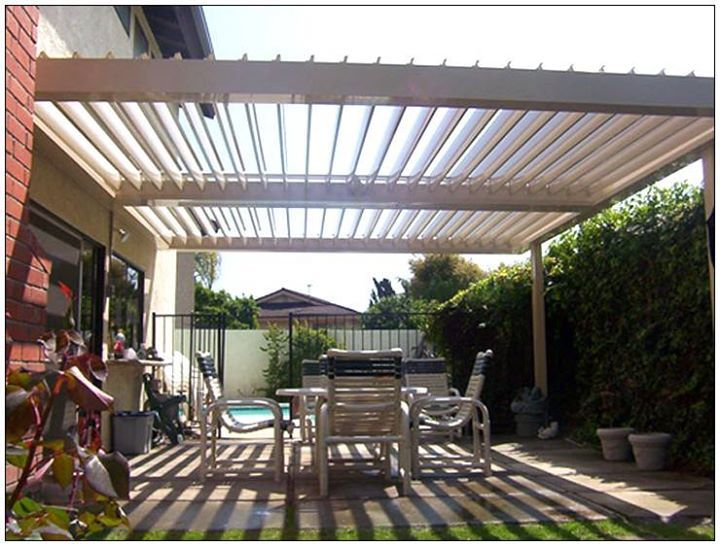Louvered Patio Covers Can Be Placed On Top Of Existing Pergolas Give Us A Call And Find Out More Pergola Patio Cheap Patio Pergola