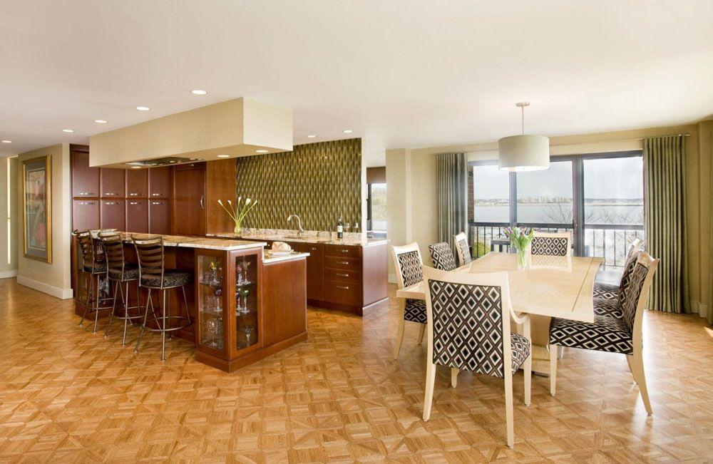 Sympathische Küche Und Esszimmer Kombinationen mit Bildern   Speisezimmereinrichtung ...
