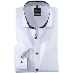 Olymp Level Five shirt, body fit, extra long arm, white, 44 Olymp -  Olymp Level Five shirt, body fi...