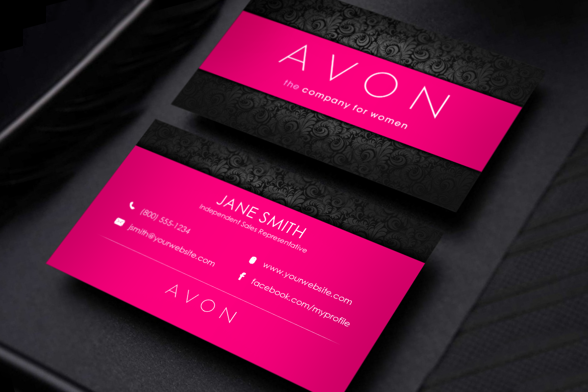 Avon Business Cards Free Shipping Printing Business Cards Free Business Cards Self Branding