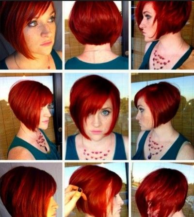18 Easy Short Hairstyles With Bangs Popular Haircuts Hairstyles With Bangs Short Hair With Bangs Short Red Hair