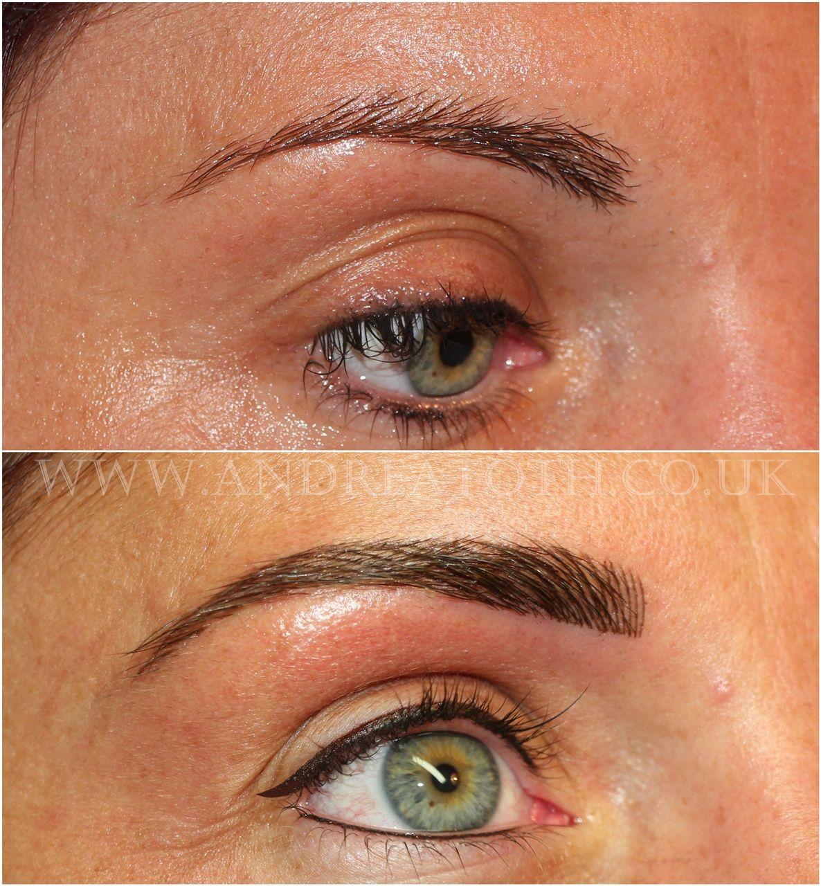 Hair Stroke Eyebrows & Eyeliner Semi Permanent Makeup