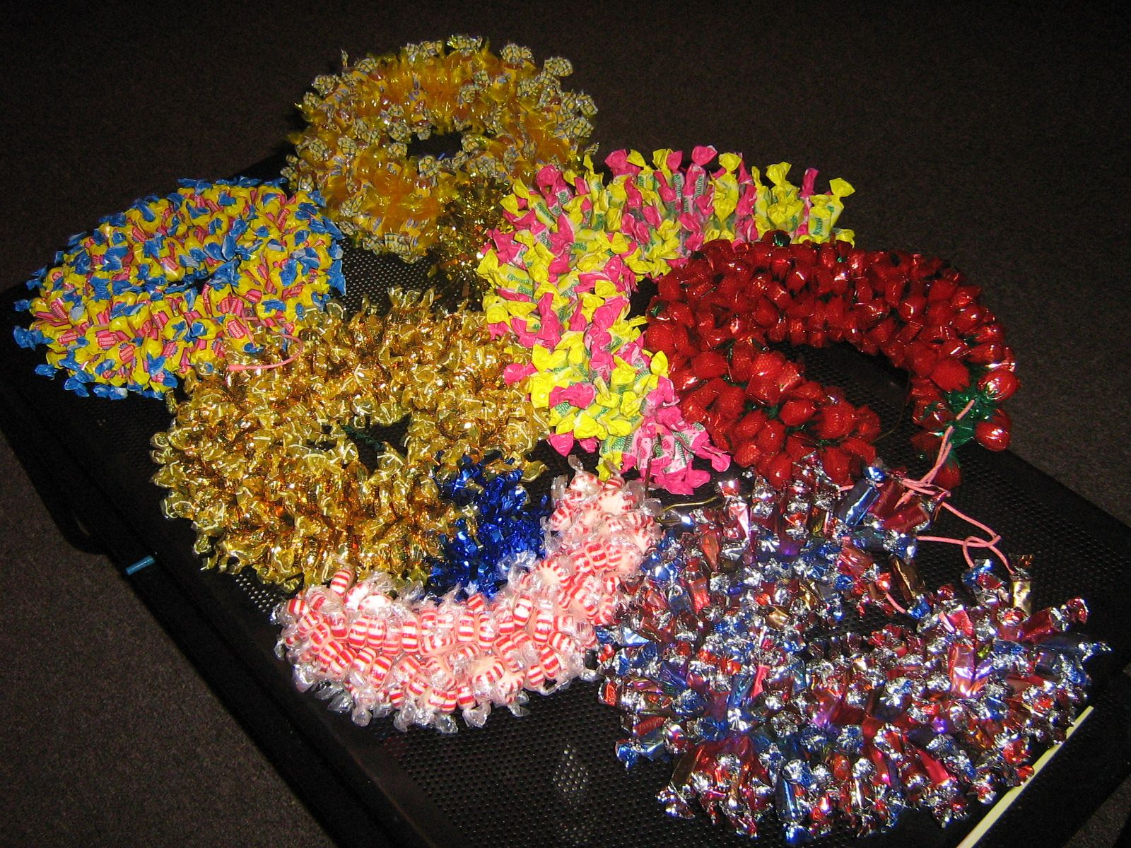 Hand Crafted Delectable Candy Wreaths