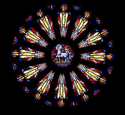 Trinity Lutheran Stained Glass Windows
