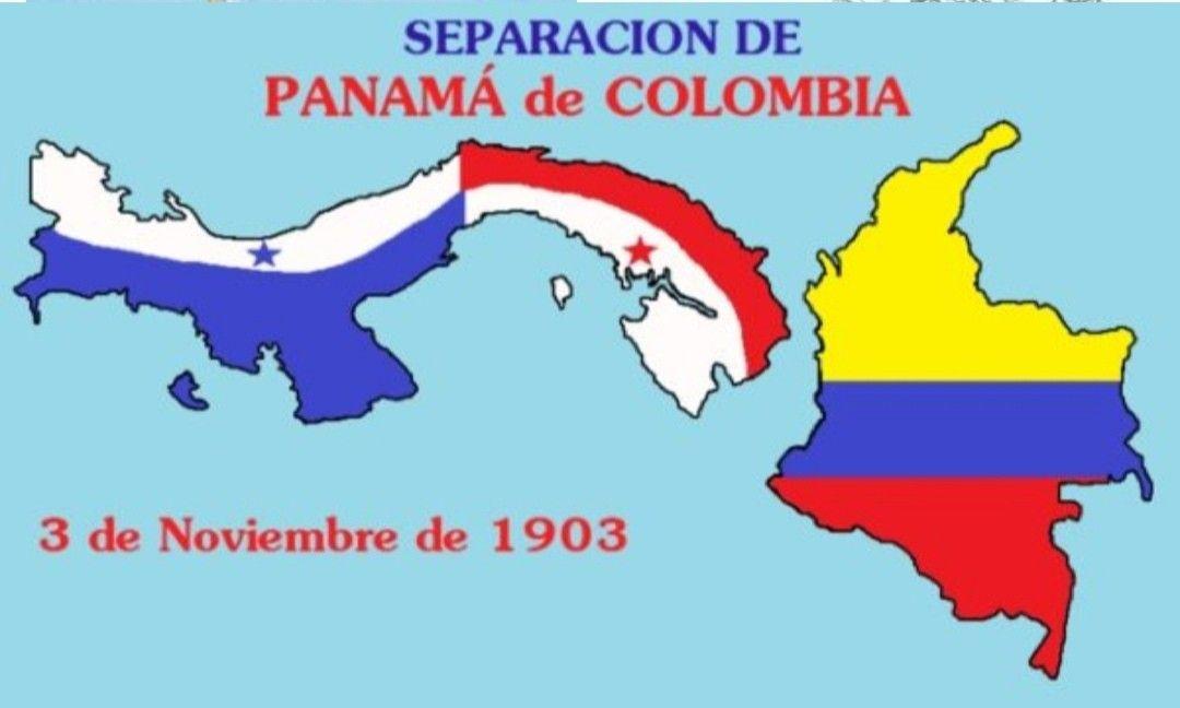 Separacion De Panama Con Colombia Panama Colombia La Gran Colombia