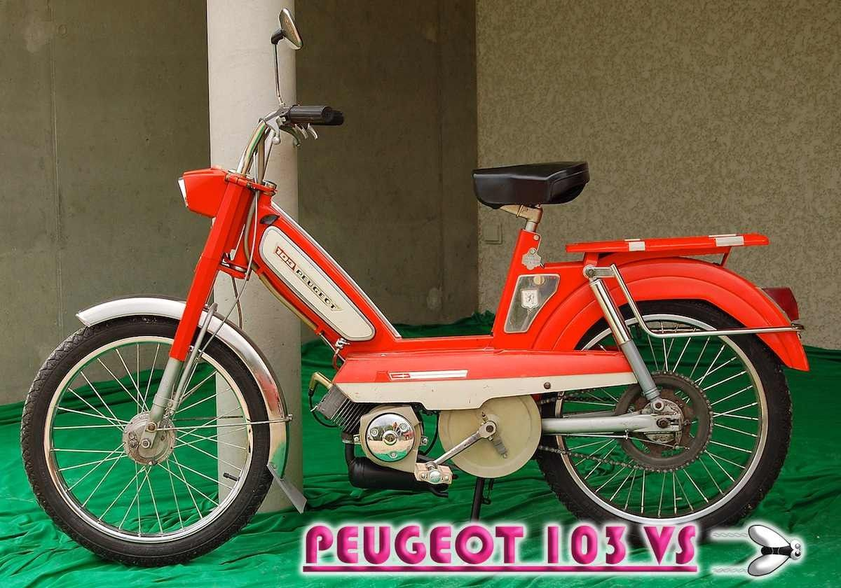 Vintage 70s Peugeot Mopeds Moped Peugeot Vintage 70s