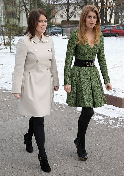 Princess Beatrice's green dress!