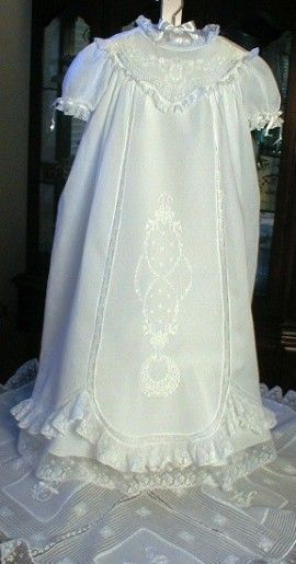 Christening Gowns - Creations by Cozette, 25th Anniversary Martha ...
