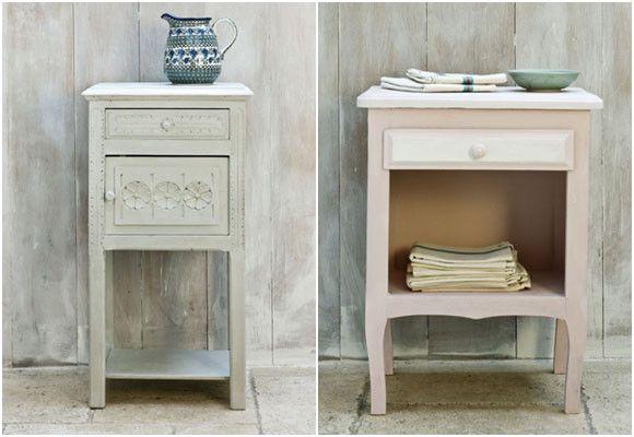 Pintura tiza restaurar y tunear muebles - Tunear muebles viejos ...