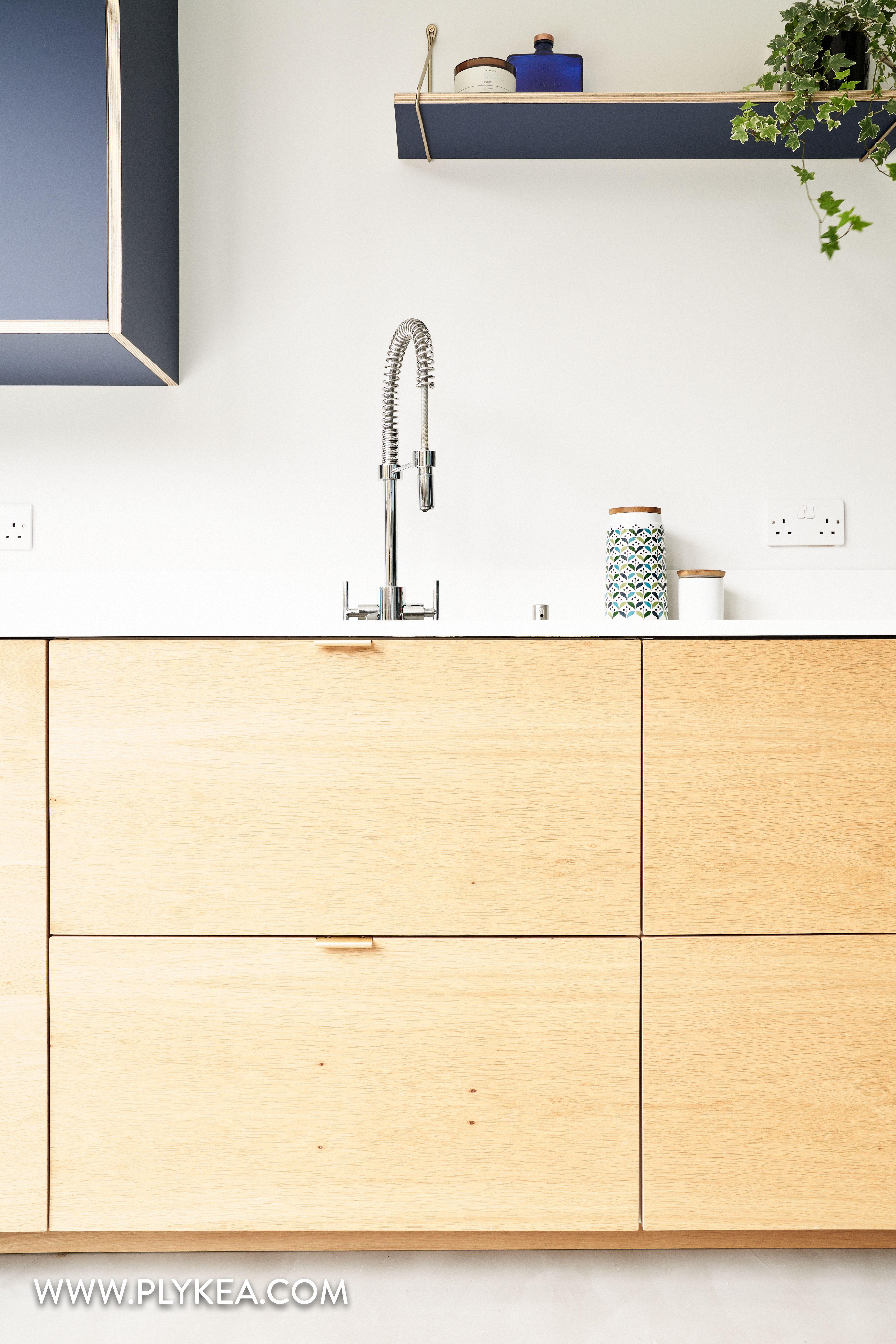 Edge Pulls Installed On Cherry Cider Slab Door Contemporary Kitchen Range Slabdoor Cherry Cider Contemporary Door Contemporary Kitchen Slab Door Kitchen