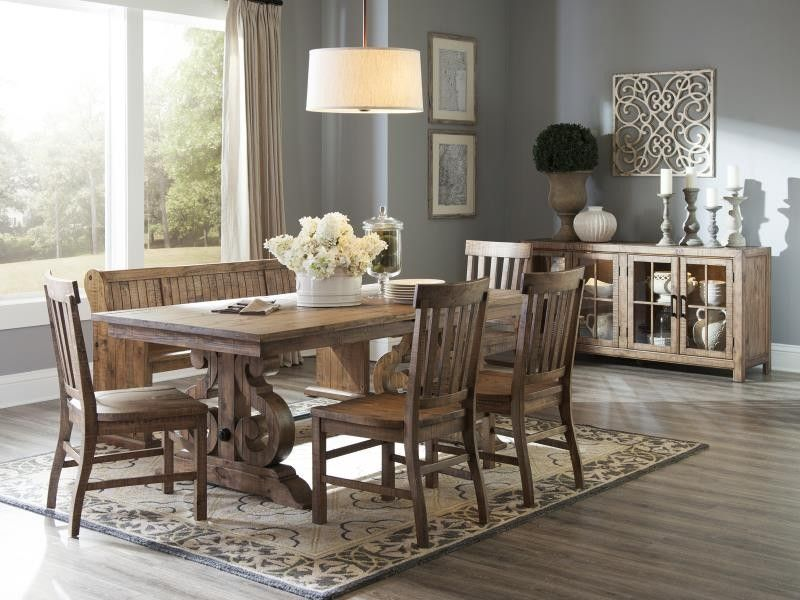 Ms12 With Bench 6 Piece Set Dining Room Sets Counter Height
