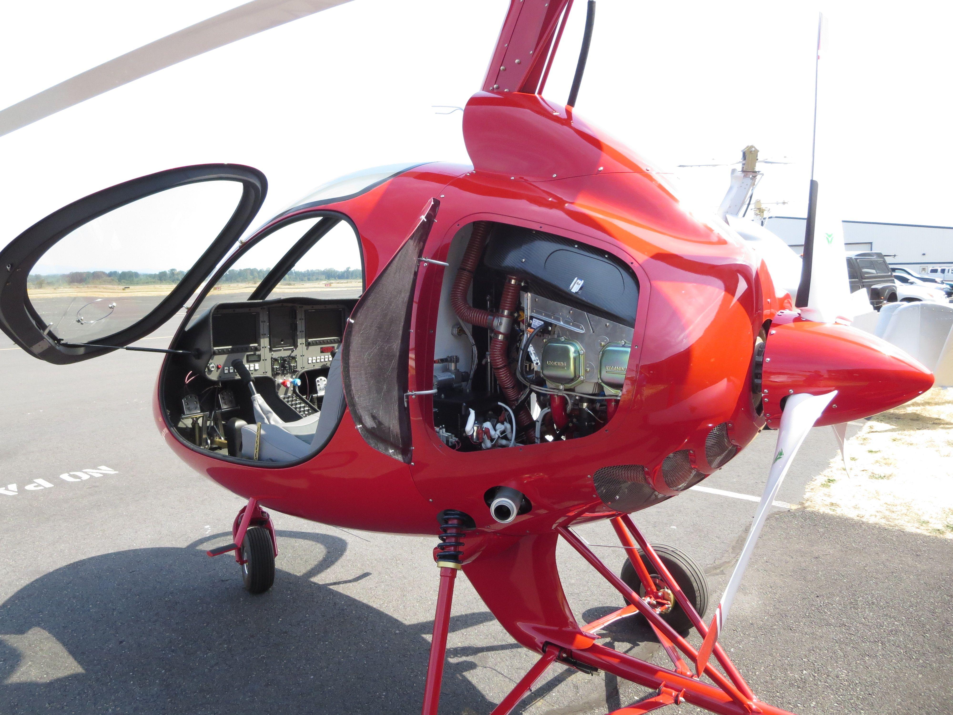 SportCopter II Engine cowls   Sport Copter gyroplane