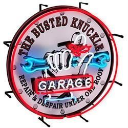 Busted Knuckle Garage BKG75400 Neon Sign Busted Knuckle BKG75400 Neon Sign