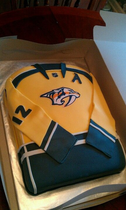Nashville Predators Cake I Want One Representing 12 Mike Fisher