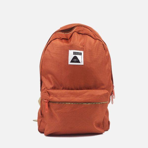 Poler Stuff Rambler Backpack - Burnt Orange  a2ce1d5021b55