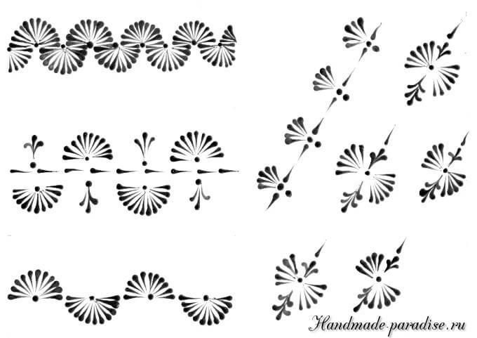 Шаблоны для росписи пасхальных яиц воском | Украшение яйца ...