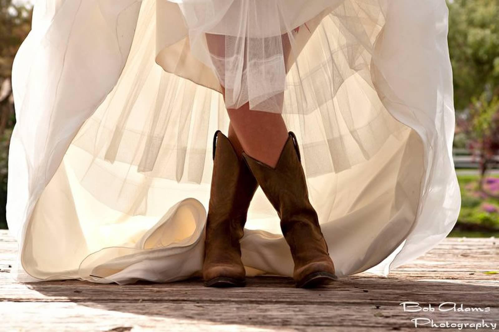 Boots under my dress- duh!
