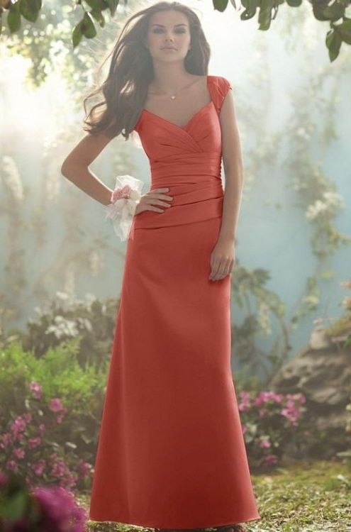 BU2MY5371 Bunny Bridesmaid Dresses Affordable Prices Burnt Orange ...