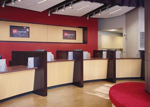 Teller desk | Bank Design | Pinterest | Desks, Banks and Reception ...
