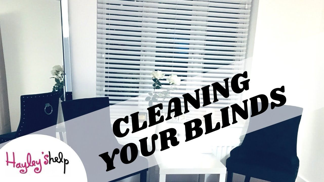 HOW TO CLEAN WOODEN BLINDS CLEANING YOUR BLINDS 3 EASY