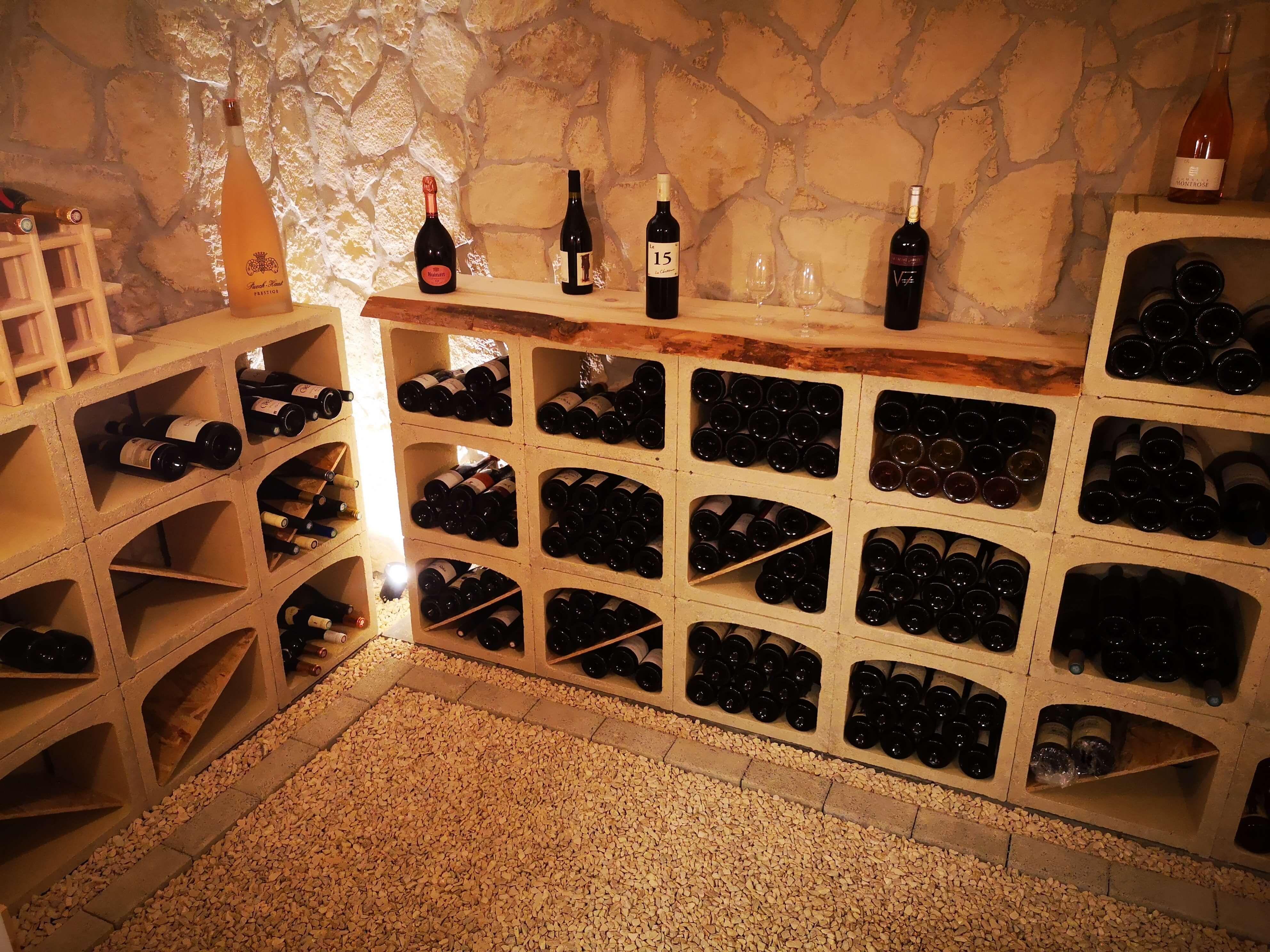 rangement cave a vin cave a vin