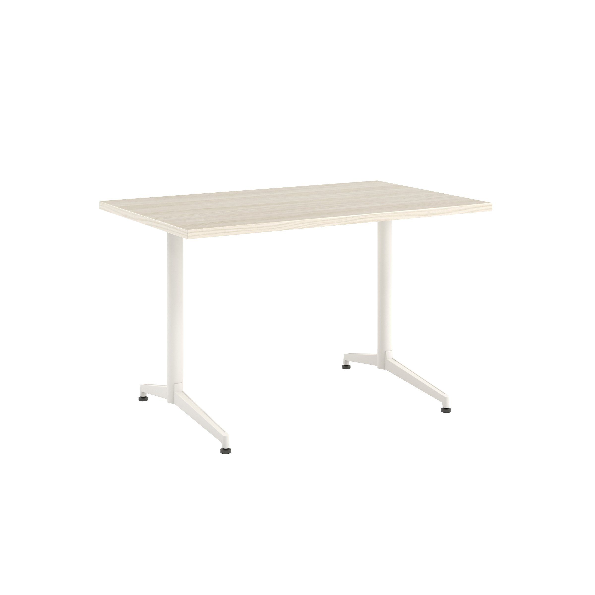 Photo of Jive Desk with C-Leg Base – 30D x 48W / Field Elm / Smooth P…