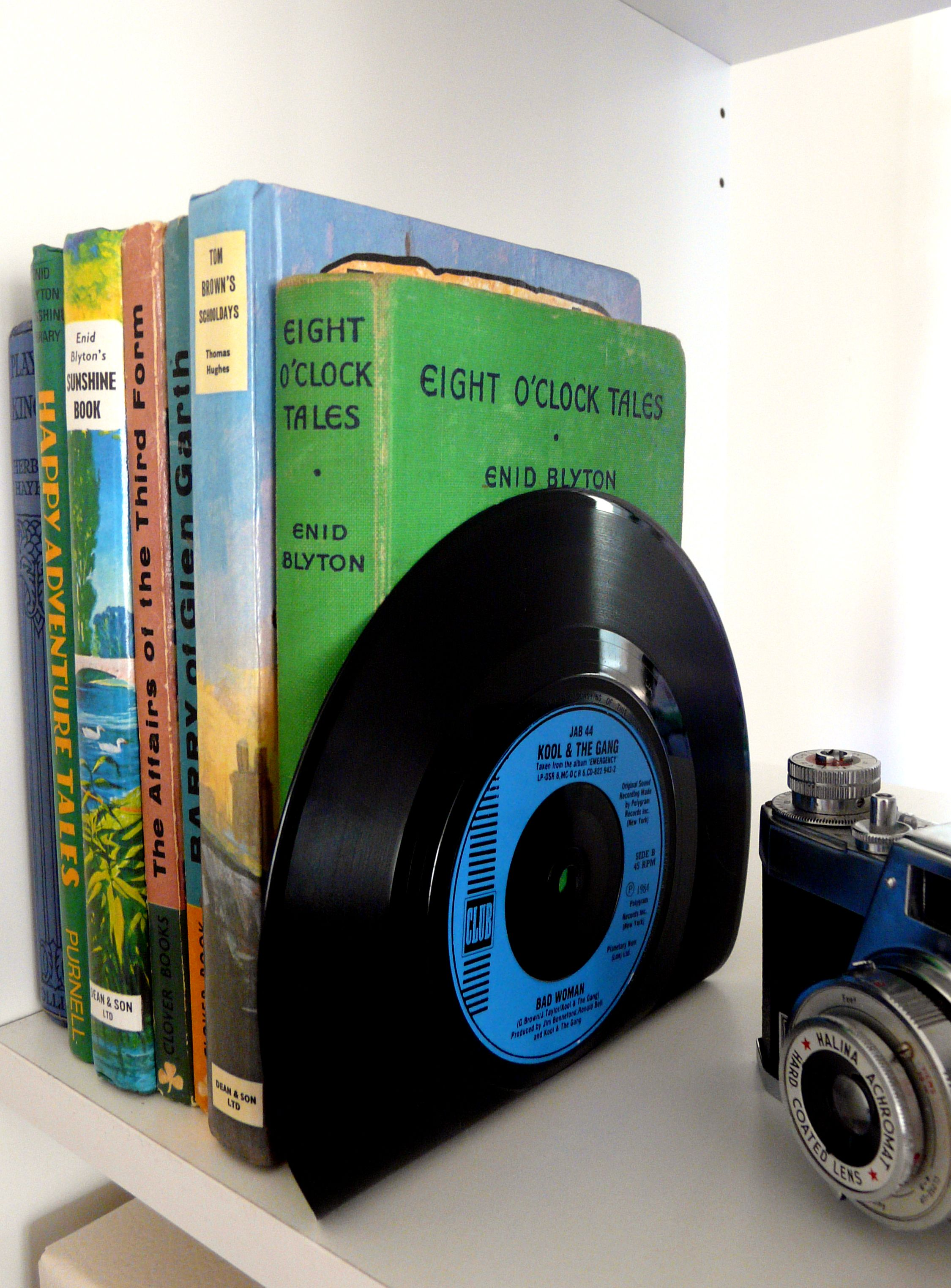 from   Made By   £   BOUF   Schallplatten, Upcycling