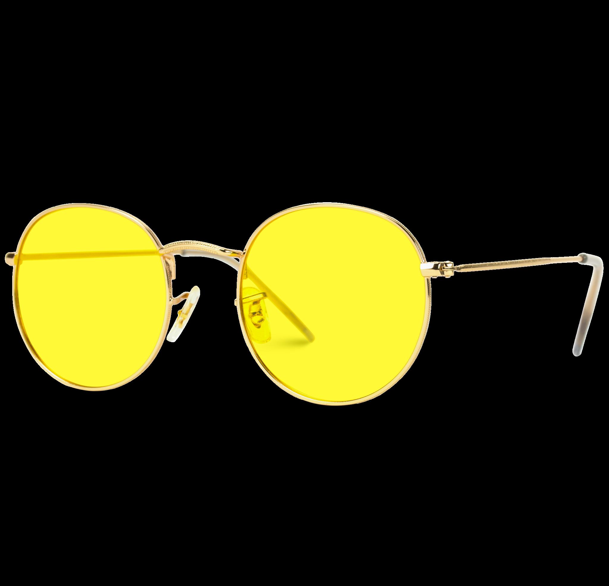 Ode Round Tinted Polarized Lens Metal Frame Retro Sunglasses Retro Sunglasses Yellow Lens Sunglasses Polarized Lens