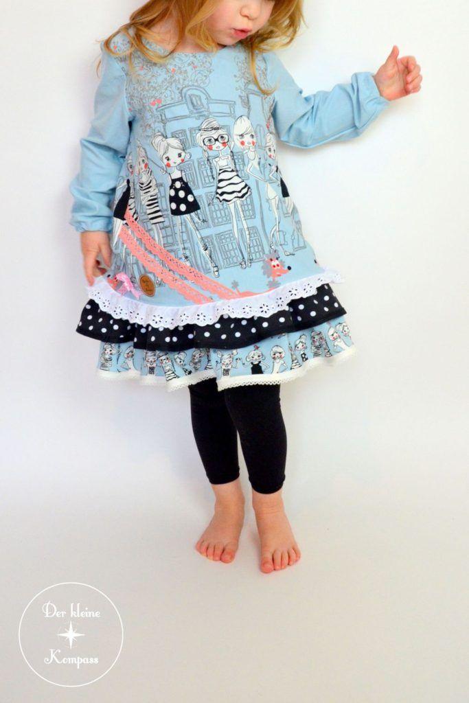 fcfaa95a2961ba Mabel of FeeFee Mode Für Kleine Mädchen, Nähen Für Kinder, Kinder Kleidung,  Schnittmuster