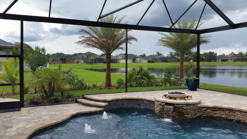Swimming Pool Screen Enclosure Orlando Wide Picture
