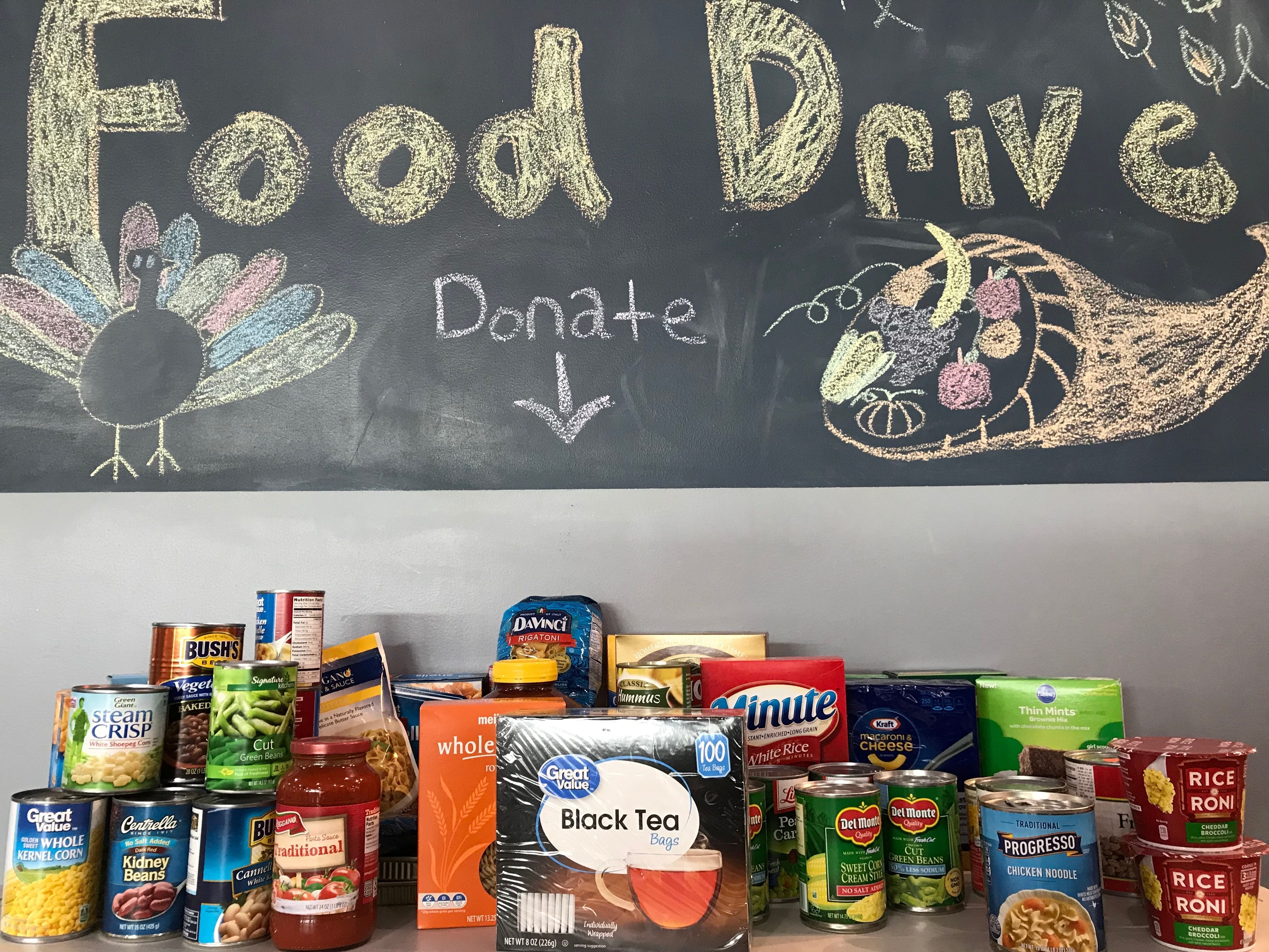 Donations have started coming in! Receive 50 percent off the joining fee with a non-perishable ...