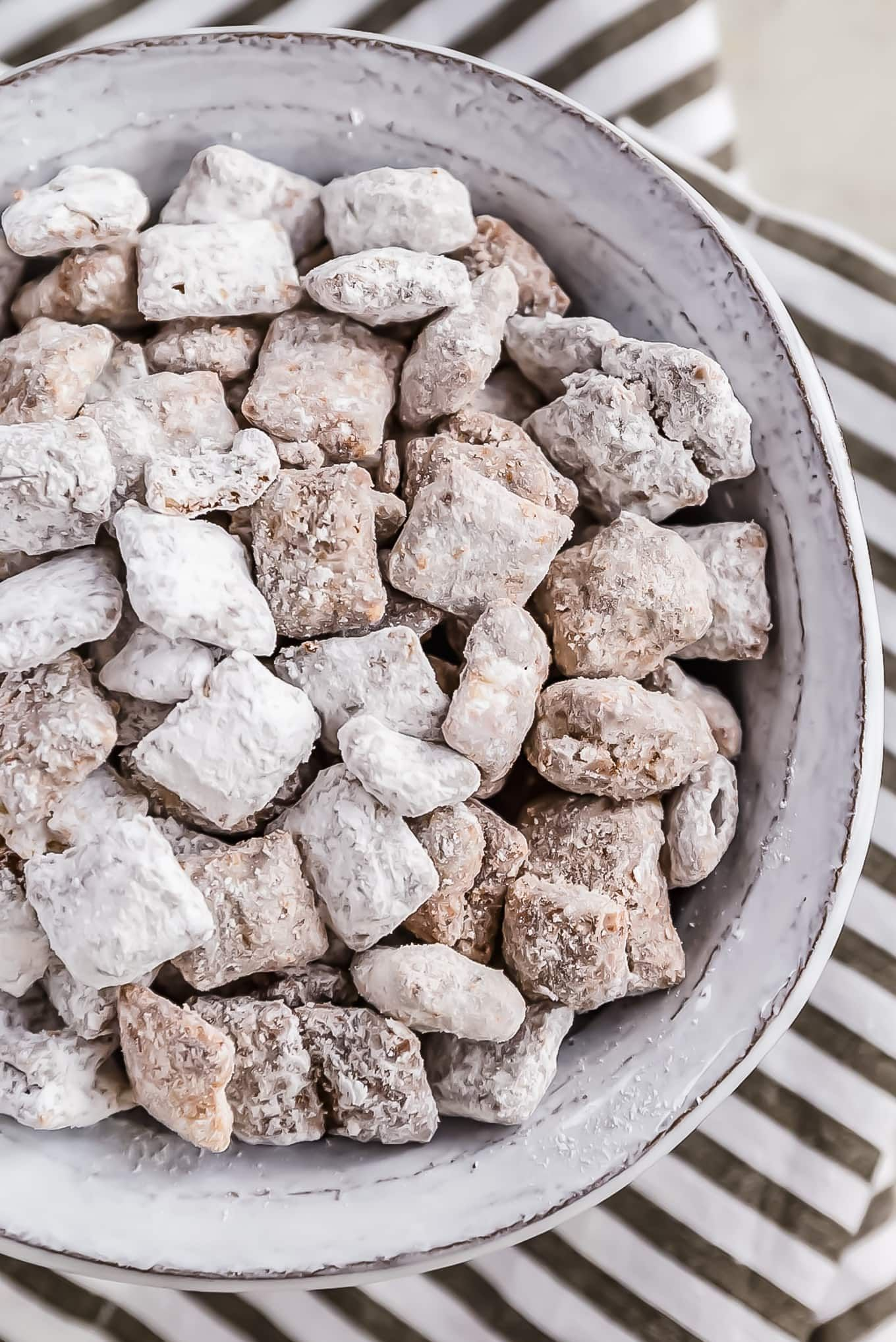 Puppy Chow is a chocolatey treat that's sure to please