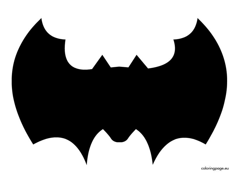 BatTemplateToCutOut  Halloween    Bat Template