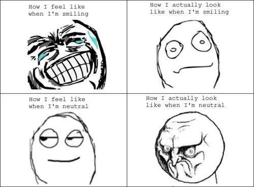 Lol Smiling Meme So True Memes Funny Faces Aspergers Awareness Aspergers