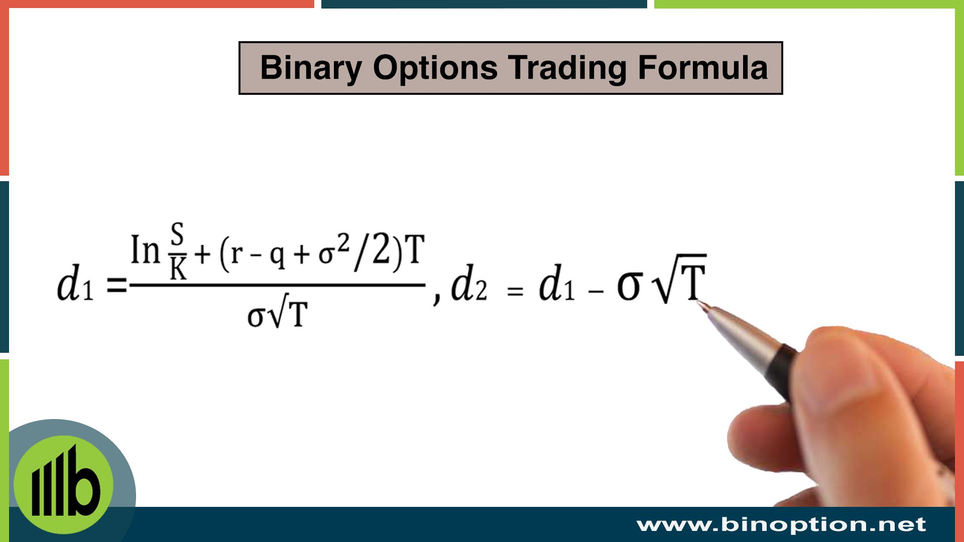 6 Facts For Binary Options Trading Formulas And Strategies Trade
