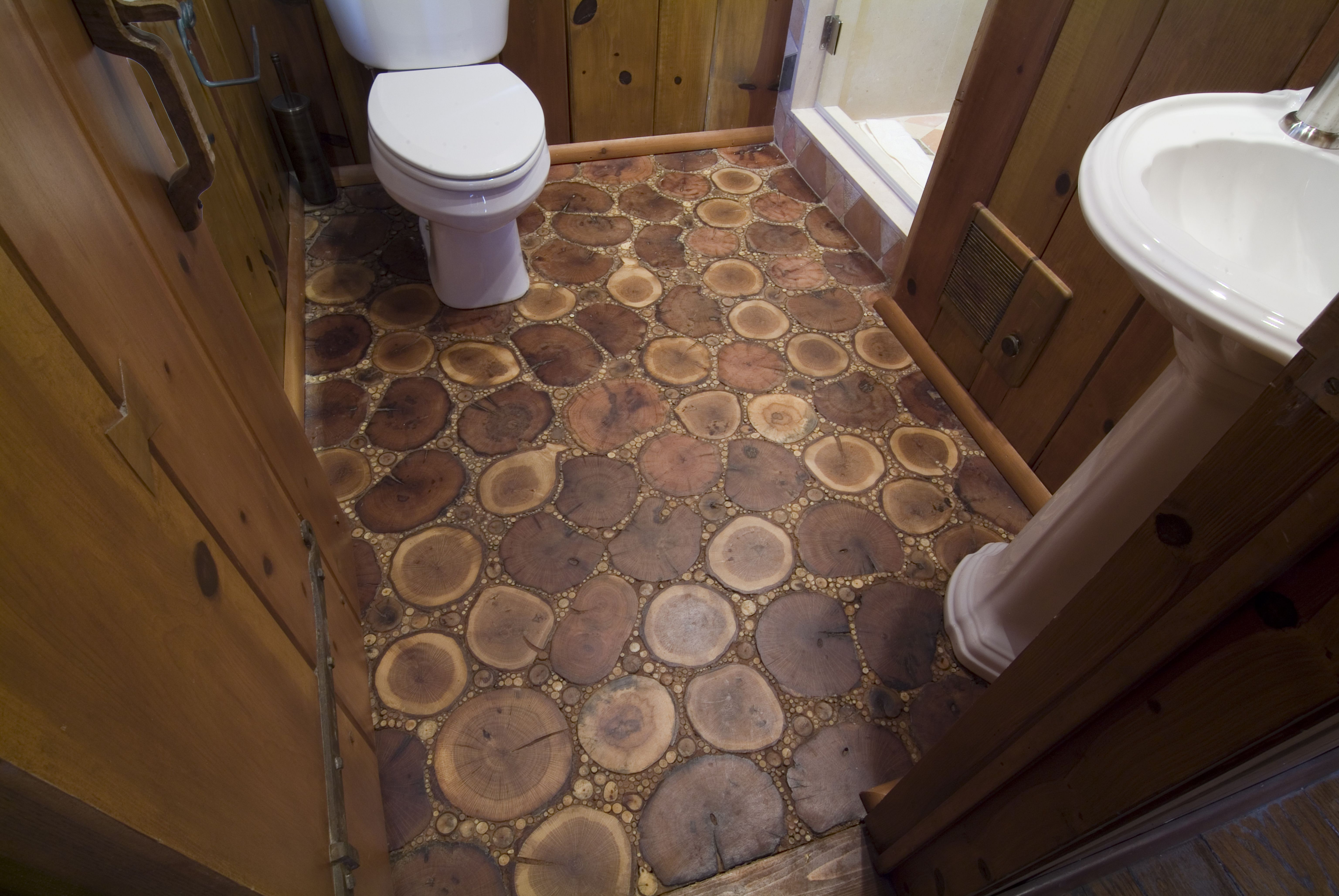 Tree Rounds And Twigs Cobblewood Flooring Http