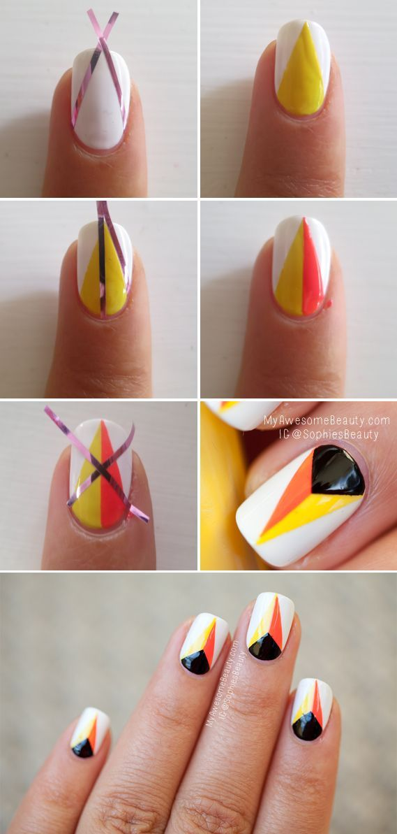 Nail polish designs easy at home step by step dailymotion france.