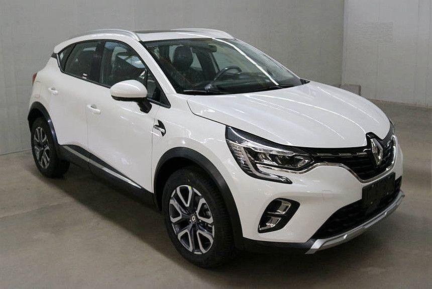 Novo Renault Captur 2020 Tem Novas Imagens Vazadas Suv Vaza Nova