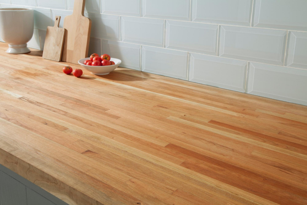 American Cherry Butcher Block Countertop 12ft Floor Decor Butcher Block Countertops Kitchen Countertops Butcher Block