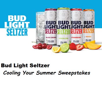Budlightseltzer Cooling Your Summer Giveaway Summer Giveaway Bud Light Contests Sweepstakes