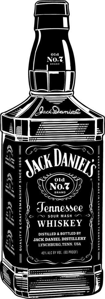 Jack Daniel S Jack Daniels Jack Daniels Bottle Funny Vinyl Decals