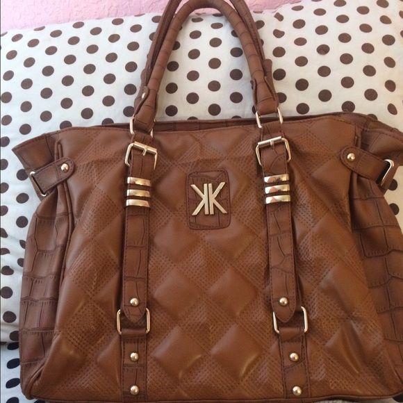 Kardashian Kollection Brown Bag