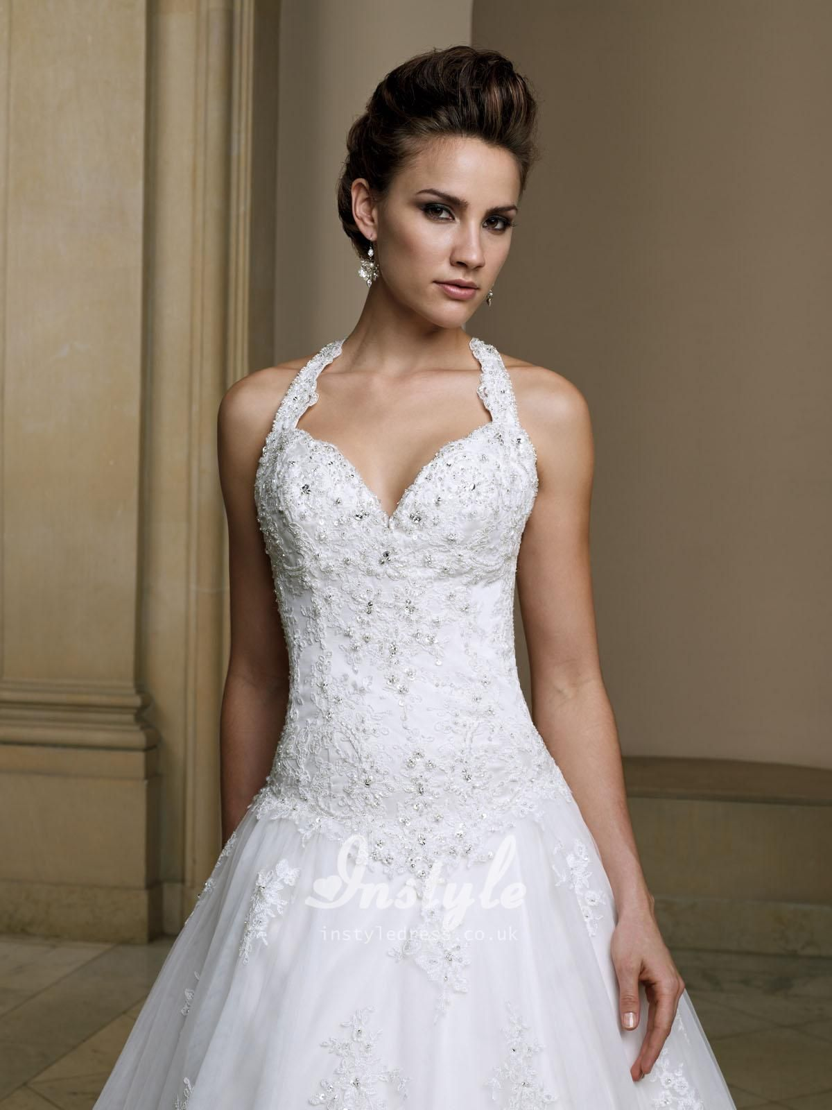 1000  images about wedding dresses on Pinterest  Halter tops ...