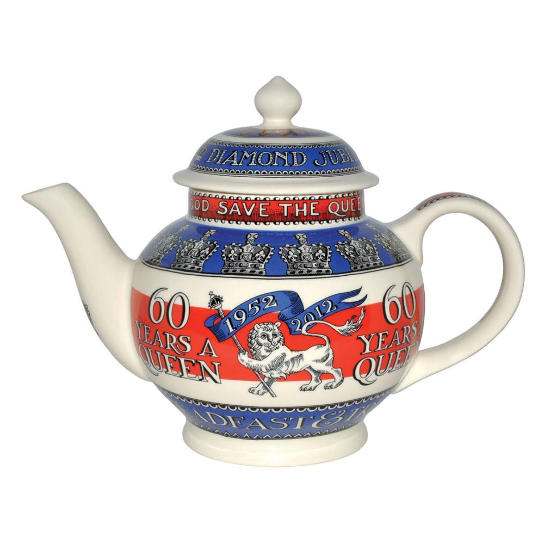 Emma Bridgewater Diamond Jubilee Teapot, honouring 60th